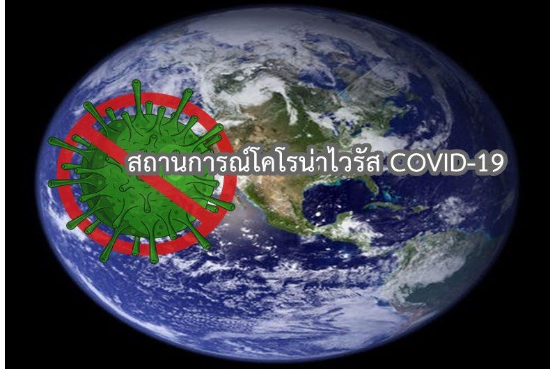 สถานการณ์การติดเชื้อ COVID-19 ในประเทศไทย วันจันทร์ที่ 25 มกราคม 2564